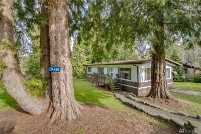 Kingston Single Family Home Pending: 34780 Hood Canal Dr NE