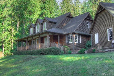 Snohomish Single Family Home For Sale: 1915 S Lake Roesiger Rd