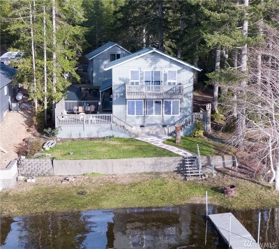 Shelton Single Family Home For Sale: 161 W Nahwatzel Beach Dr