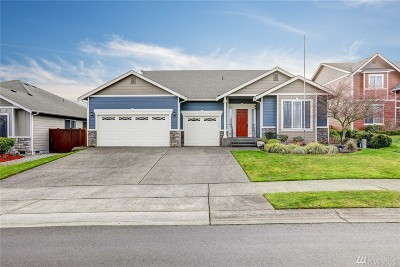 Puyallup Single Family Home For Sale: 6812 83rd St E