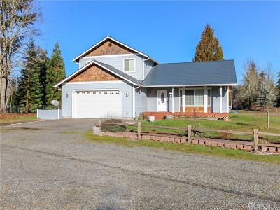 Yelm Single Family Home For Sale: 19725 Crosswinds Dr SE
