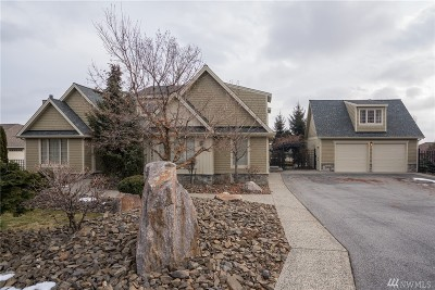 Chelan County Single Family Home For Sale: 3641 Ridgeview Blvd