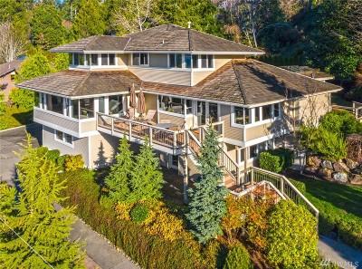 Mercer Island Single Family Home For Sale: 4714 81st Ave SE
