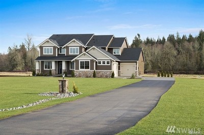 Orting Single Family Home For Sale: 18812 Voight Meadows Rd E #lot11