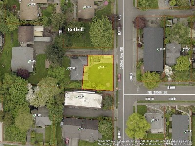 Bothell Residential Lots & Land For Sale: 18611 103rd Ave NE