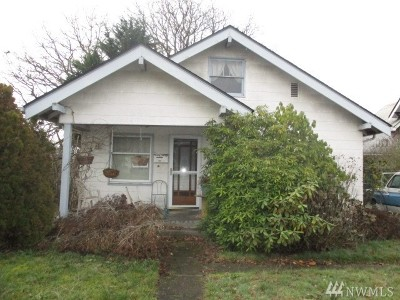 Tacoma Single Family Home For Sale: 5618 S Oakes St