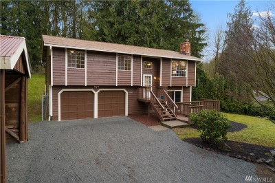 Snohomish Single Family Home For Sale: 18405 Welch Rd