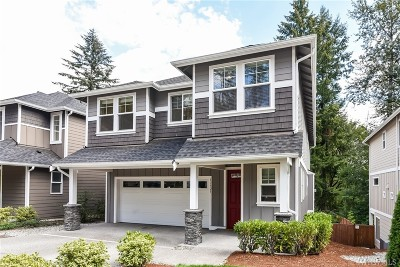 Bothell Single Family Home Contingent: 17525 3rd Ave SE