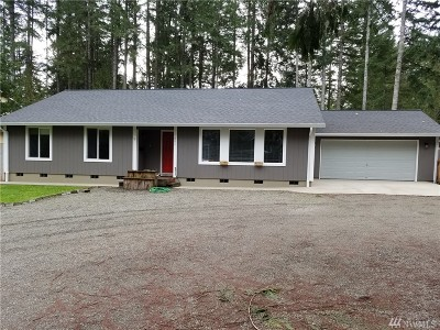 Shelton WA Single Family Home Sold: $280,000