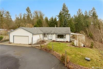 Olympia Single Family Home Contingent: 10322 Case Rd SW