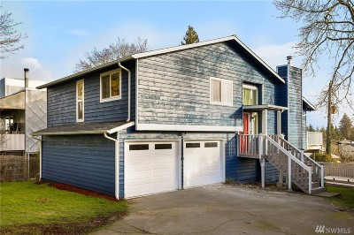 Seattle Single Family Home For Sale: 4627 45th Ave S