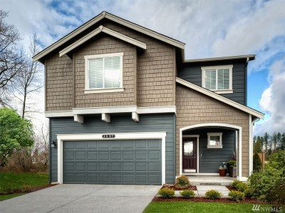 Puyallup Single Family Home For Sale: 10588 190th St E #166