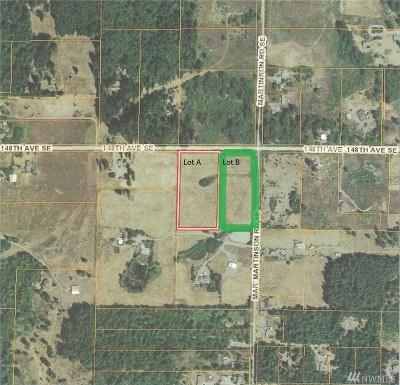 Yelm Residential Lots & Land For Sale: Martinson Rd SE