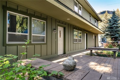 Chelan County Condo/Townhouse For Sale: 163 W Whitman St #2