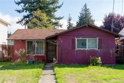 Seattle Single Family Home For Sale: 5510 21st Ave S