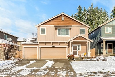 Puyallup Single Family Home Contingent: 7305 183rd St E