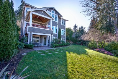 Mercer Island Single Family Home For Sale: 3020 90th Place SE