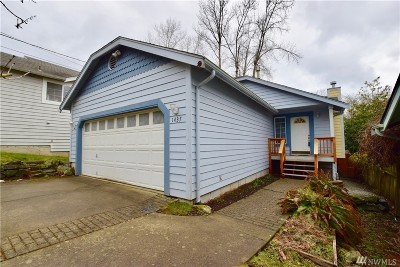 Bellingham Single Family Home For Sale: 1437 St Paul