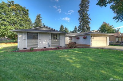 Puyallup Single Family Home For Sale: 2810 10th St Ct E
