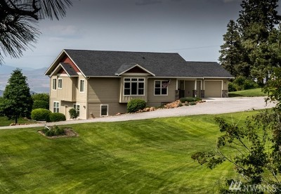 Chelan County Single Family Home For Sale: 6422 Stemilt Loop Road
