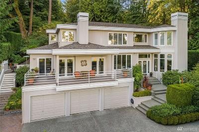 Mercer Island Single Family Home For Sale: 5445 E Mercer Wy