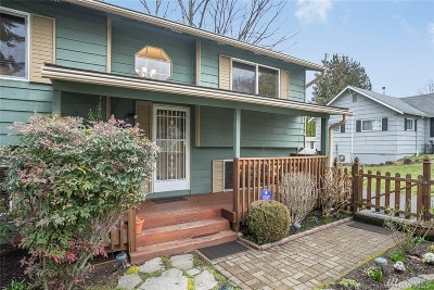 Renton Single Family Home For Sale: 906 N 30th St