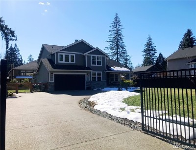 Snohomish Single Family Home For Sale: 12616 218th Place SE