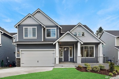 Puyallup Single Family Home For Sale: 11222 130th St Ct E #lot7