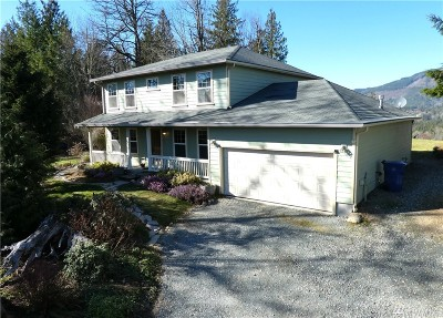 Skagit County Single Family Home For Sale: 22777 Nature View Dr