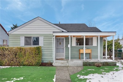 Tacoma Single Family Home For Sale: 4814 S Fife St