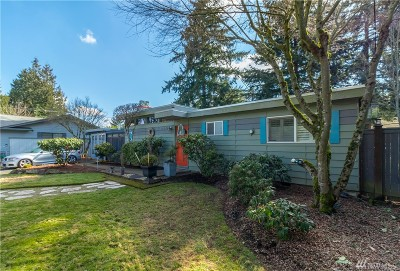 Kirkland Single Family Home For Sale: 10935 NE 133rd St