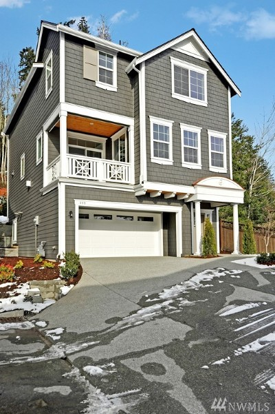 Sammamish Single Family Home For Sale: 888 224th (Lot 22) Ave NE