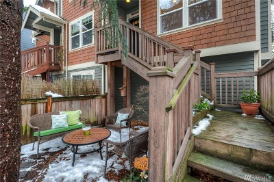 Seattle Single Family Home For Sale: 927 18th Ave #C