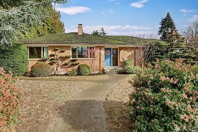 Seattle Single Family Home For Sale: 7778 Seward Park Ave S