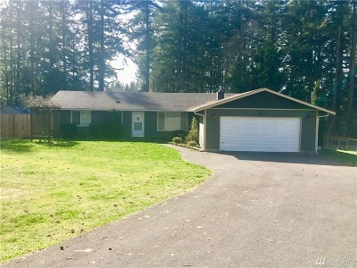Thurston County Rental For Rent: 13631 Vail Cutt Off Rd SE