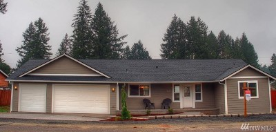 Shelton WA Single Family Home For Sale: $349,950