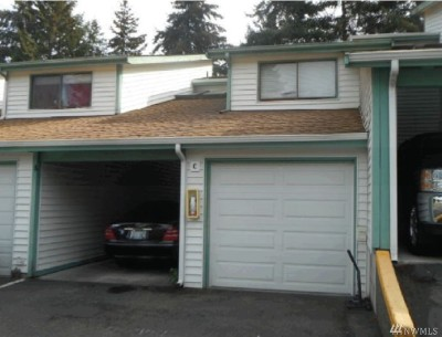 Federal Way Condo/Townhouse For Sale: 1825 SW 318th Place #32C