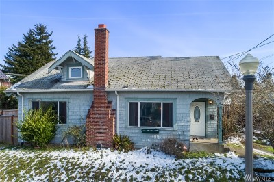 Tacoma Single Family Home For Sale: 1215 N Steele St