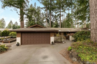 University Place Single Family Home For Sale: 5020 88th Ave W