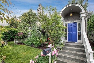 Seattle Single Family Home For Sale: 2426 E McGraw St