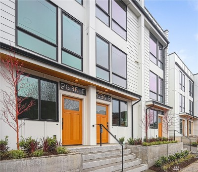 Seattle Single Family Home For Sale: 2636 NW 58th St