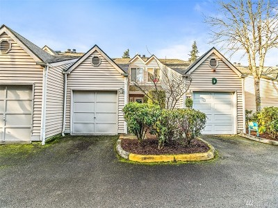 Federal Way Condo/Townhouse For Sale: 1825 S 330th St #D-4