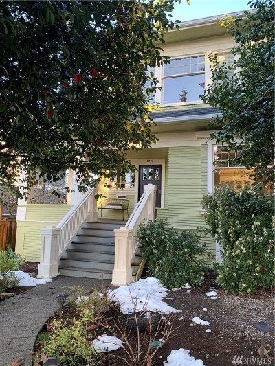 Seattle Single Family Home For Sale: 2502 4th Ave N