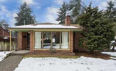 Shoreline Single Family Home For Sale: 15037 27th Ave NE