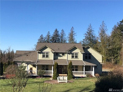 Sedro Woolley Single Family Home Contingent: 7792 Renic Dr