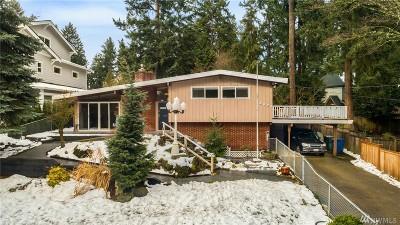 Bellevue WA Single Family Home For Sale: $1,200,000