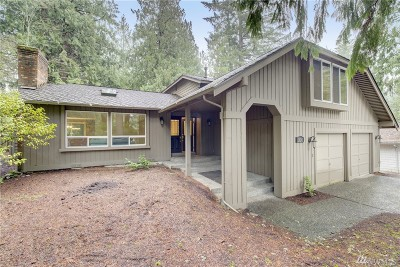 Sammamish Single Family Home For Sale: 2824 Sahalee Dr E