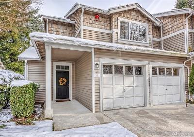 Redmond Condo/Townhouse For Sale: 9610 179th Place NE #1