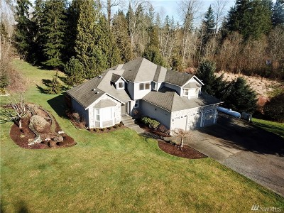 Snohomish Single Family Home For Sale: 19801 Fales Rd