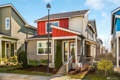 Seattle Single Family Home For Sale: 921 SW 96th Place